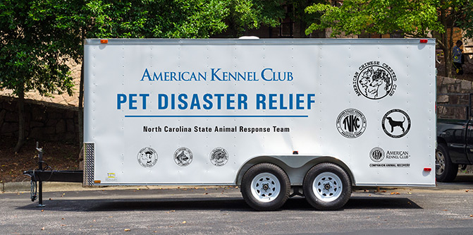 What is AKC Pet Disaster Relief?
