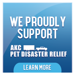 AKC Pet Disaster Relief Program