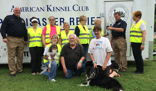 AKC Pet Disaster Trailer for Chattanooga