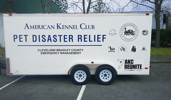 AKC Pet Disaster Relief Rolls Out Help for Pets in Tennessee