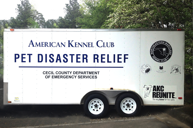AKC Pet Disaster Relief Rolling Out Help to Maryland