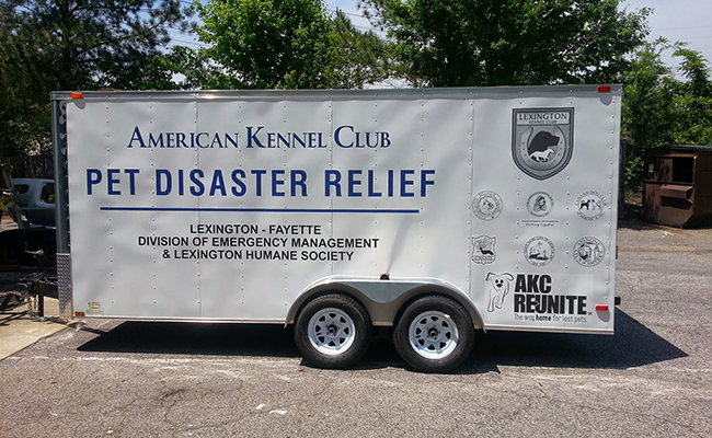 AKC Pet Disaster Relief Trailer Donated to Kentucky