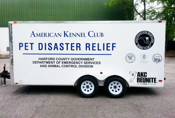 AKC Pet Disaster Relief Rolls Out Help for Pets in Harford County, Maryland