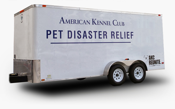 Rolling Out Help with AKC Pet Disaster Relief
