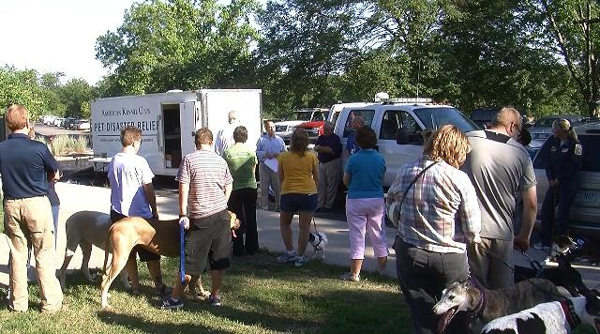 AKC Pet Disaster Relief Trailer in Missouri