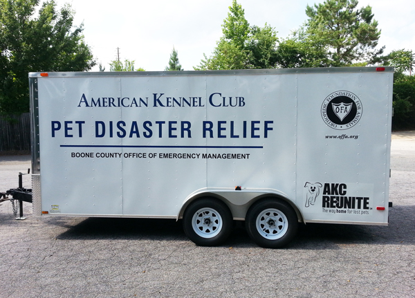 AKC Pet Disaster Missouri Trailer
