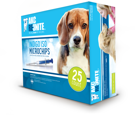 AKC Reunite 25 Count Pet Microchips