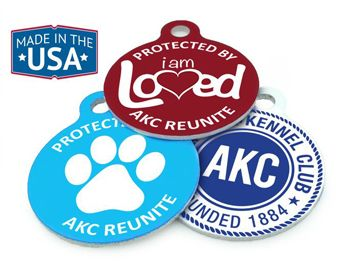 Pet ID Collar Tags
