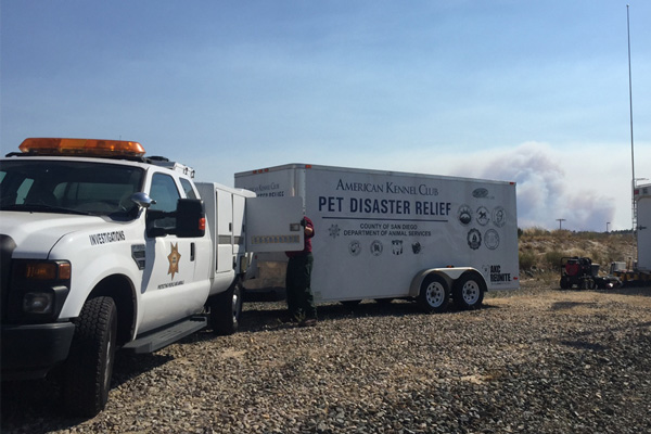 AKC Pet Disaster Relief Trailer Program Celebrates 5 Years
