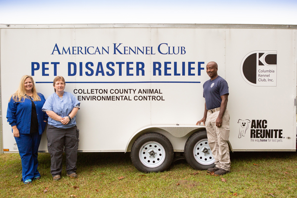AKC Pet Disaster Relief Rolls Out Help for Pets in Colleton County, SC