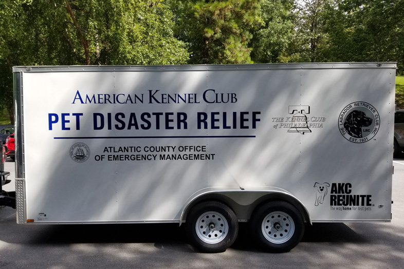 AKC Pet Disaster Relief Rolls Out Help for Pets in Atlantic County, NJ