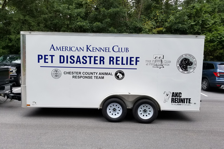 AKC Pet Disaster Relief Rolls Out Help for Pets in Chester County, PA