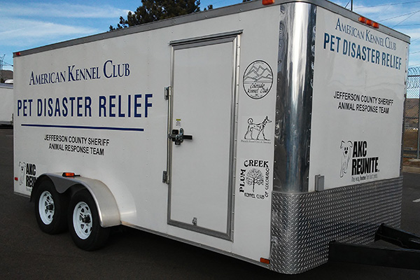 AKC Pet Disaster Relief Rolls Out Help to Jefferson County