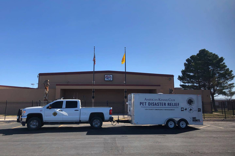 AKC Pet Disaster Relief Rolls Out Help for Pets in Lea County, NM