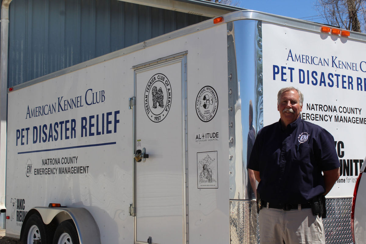 AKC Pet Disaster Natrona Trailer