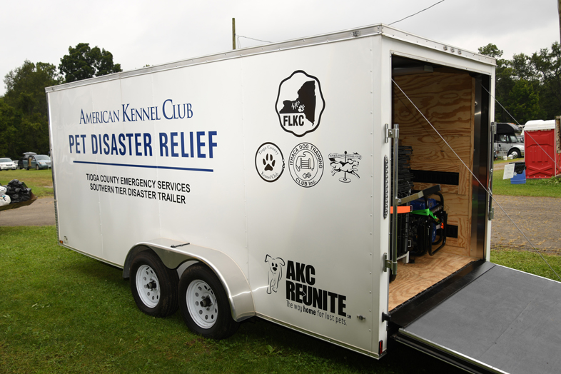 AKC Pet Disaster Relief Rolls Out Help for Pets in Tioga County, NY