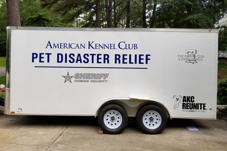 AKC Pet Disaster Relief Rolls Out Help for Pets in Ocean County, NJ