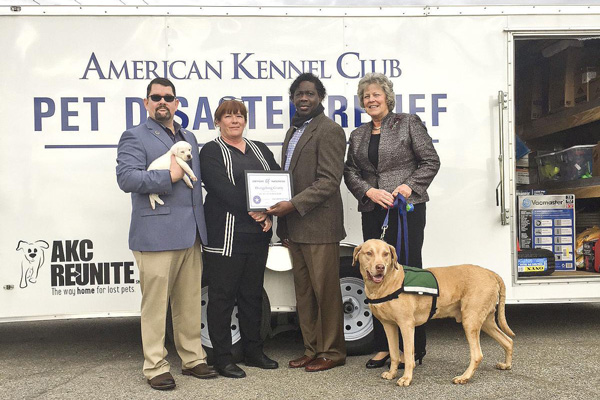 AKC Pet Disaster Relief Rolls Out Help for Pets in Orangeburg County, SC
