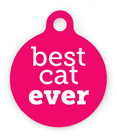 Best Cat Ever Pet ID Tag