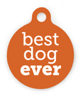Best Dog Ever Pet ID Tag
