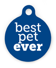Best Pet Ever Pet ID Tag