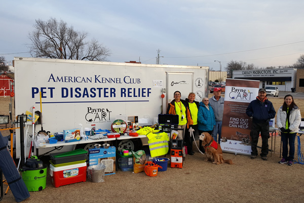 AKC Pet Disaster Relief Rolls Out Help for Pets in Payne County