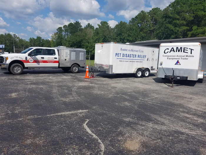 Pamlico County Trailer Deployed