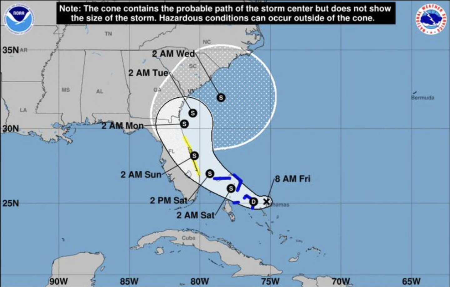 Potential Tropical Cyclone