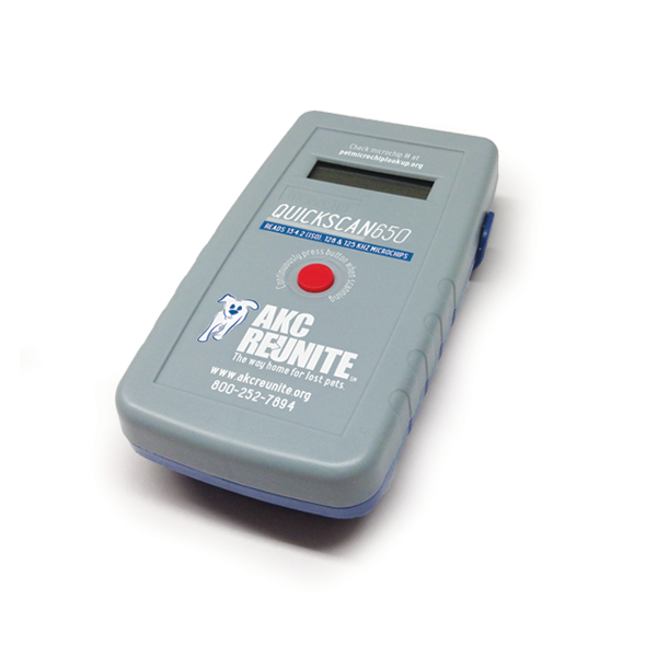 QuickScan 650 Pet Microchip Scanner