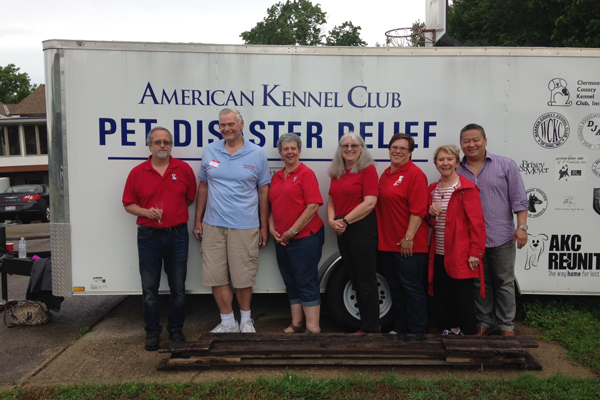 AKC Pet Disaster Relief Rolls Out Help for Pets in Batavia, OH